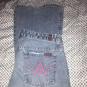 7 of all man kind jeans